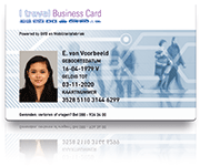 I travel business card