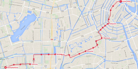 Tram 2 as tourist attraction – Tourist Attractions Map In Amsterdam